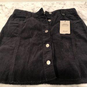 Primark Skirts - Black Denim Mini Skirt
